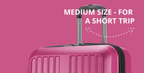 medium size suitcasest