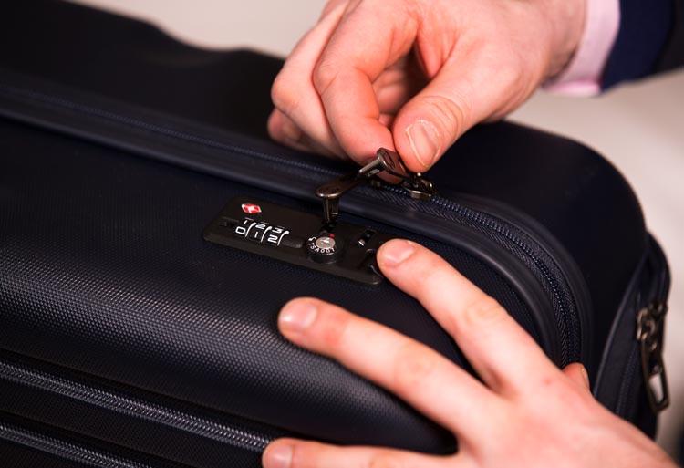 Wichtige Infos zum Gepäckschloss