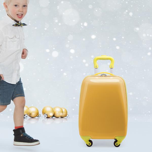 verschenke einen Kinderkoffer
