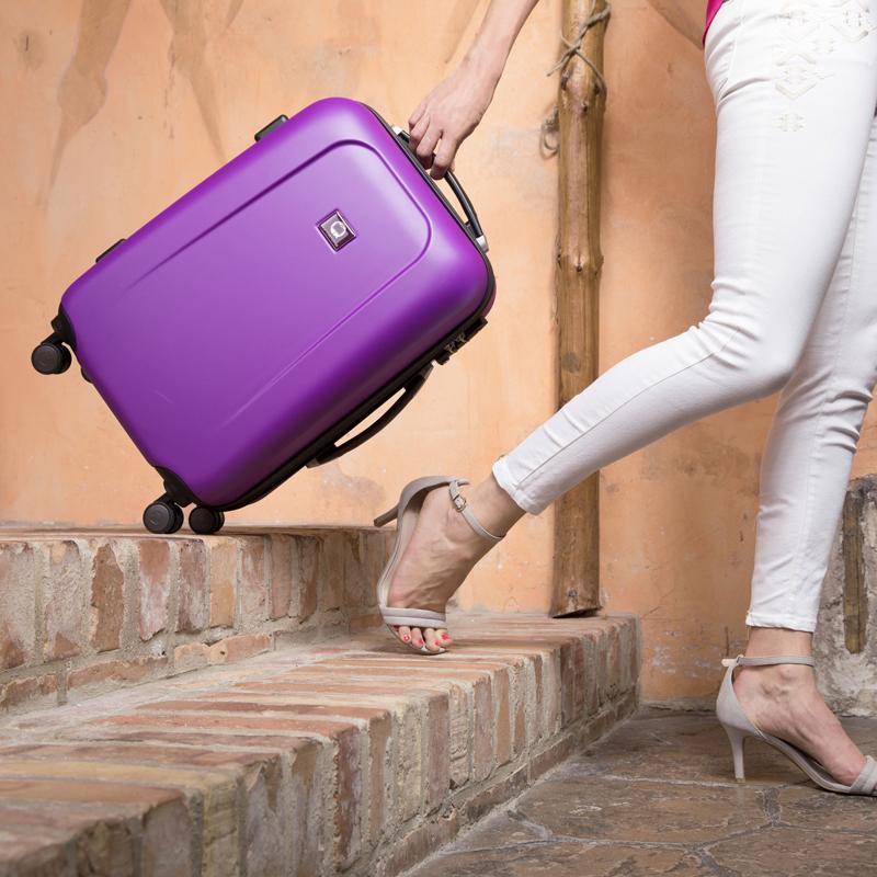Koffer im Flugzeug