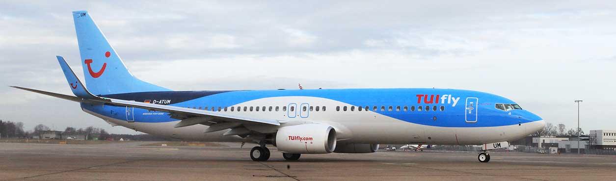 Handgepäck Koffer Gepäckbestimmungen TUIfly