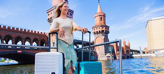 Koffer kaufen im Showroom