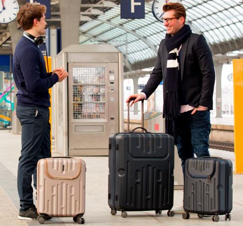 Gepäckstücke zu einem Koffer-Set kombineren
