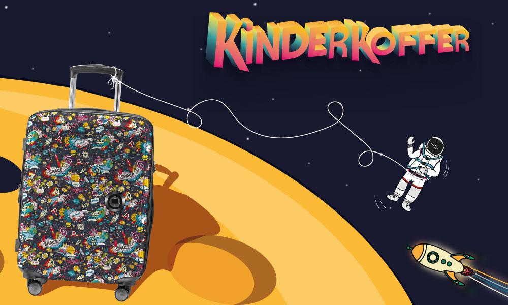 Kinderkoffer als Handegpäck