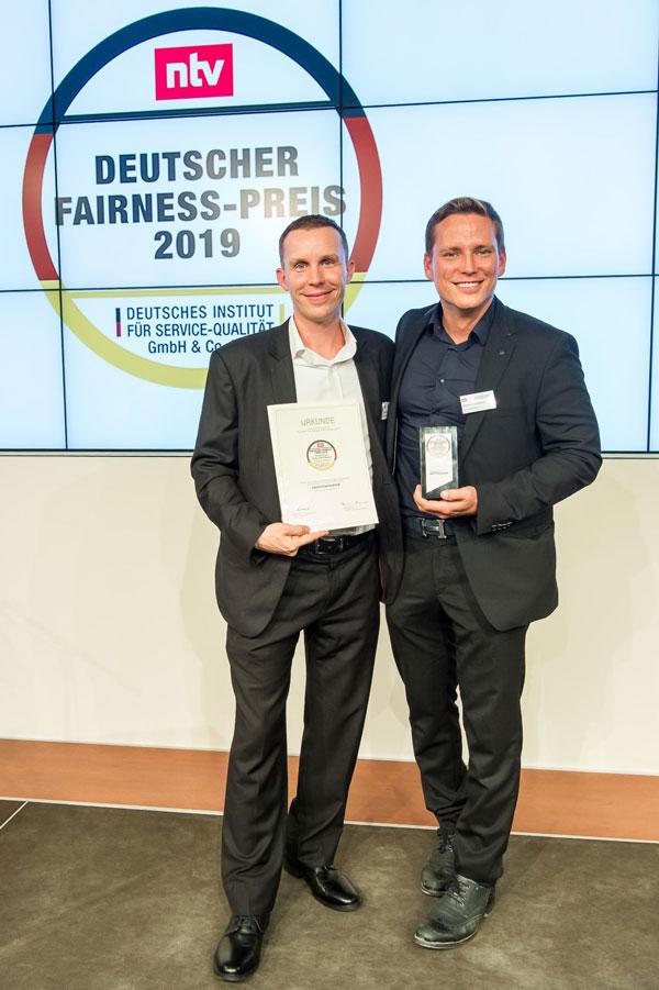 Deutscher Fairness-Preis 2019