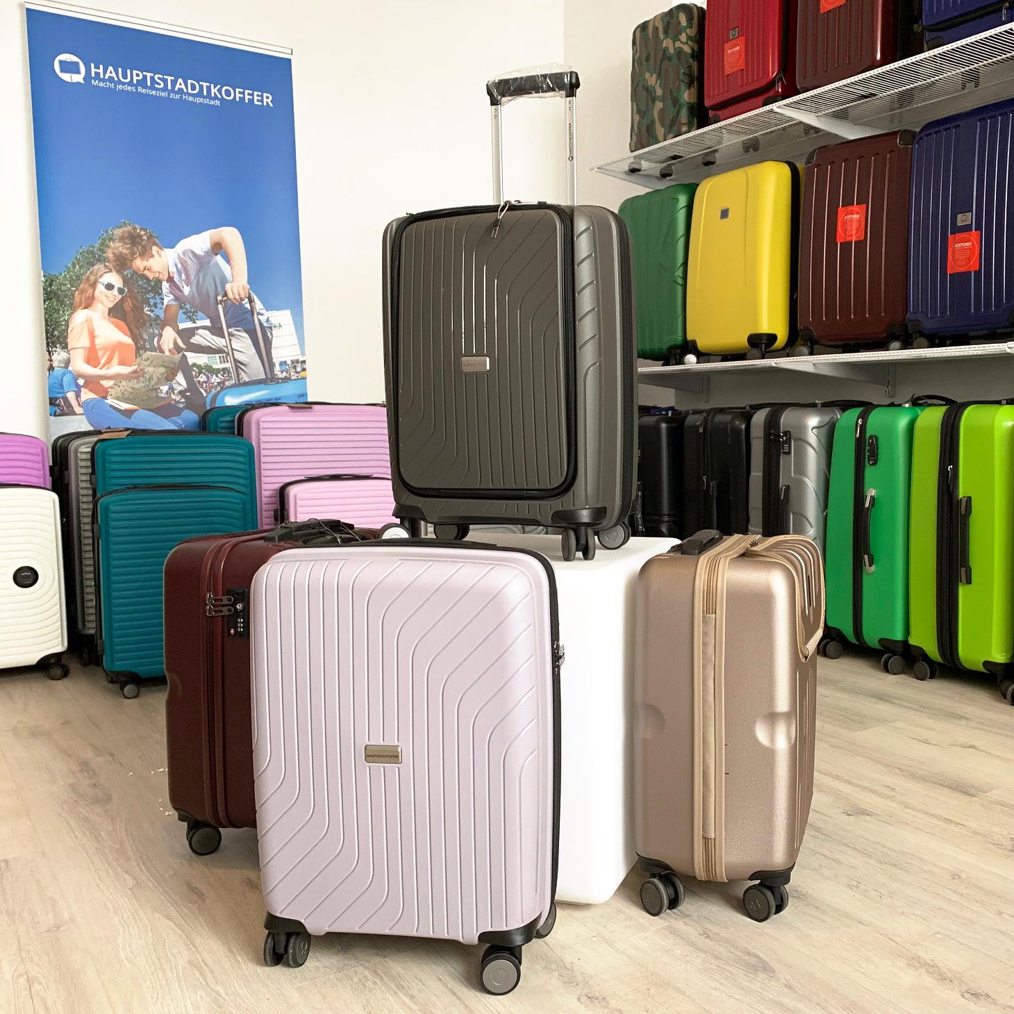 Koffer kaufen im Koffershop von Hauptstadtkoffer in Berlin
