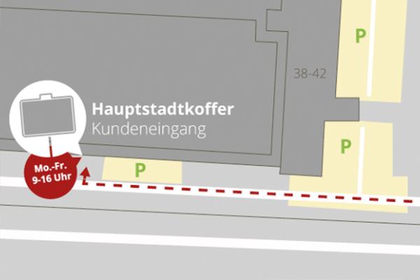 Hauptstadtkoffer Ladengeschäft Berlin