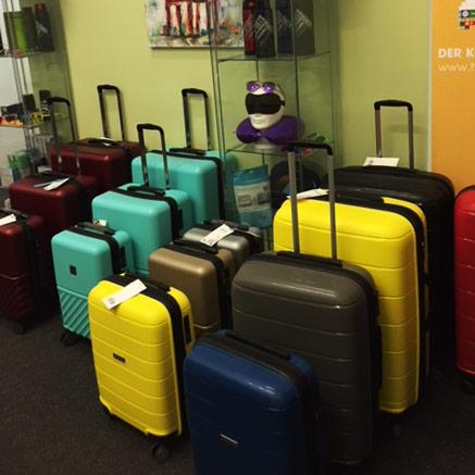 Koffersets in unserem Showroom von Haupttstadtkoffer in Berlin