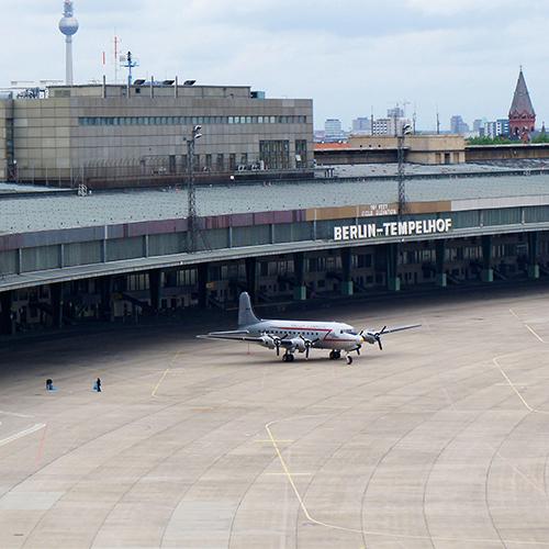 Hauptstadtkoffer Standort Tempelhof